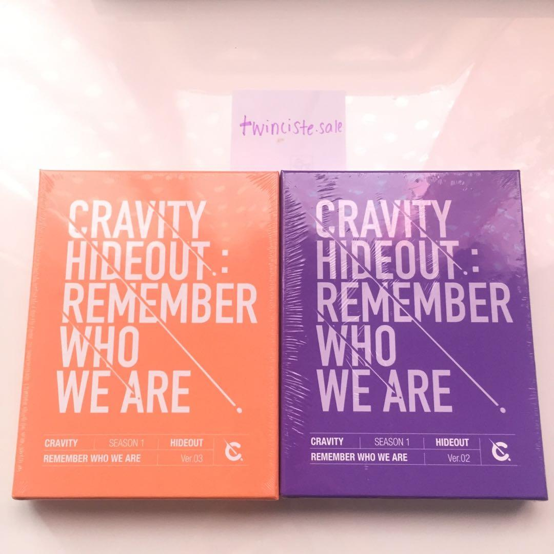 [READY STOCK] CRAVITY HIDEOUT : REMEMBER WHO WE ARE ALBUM SEALED
