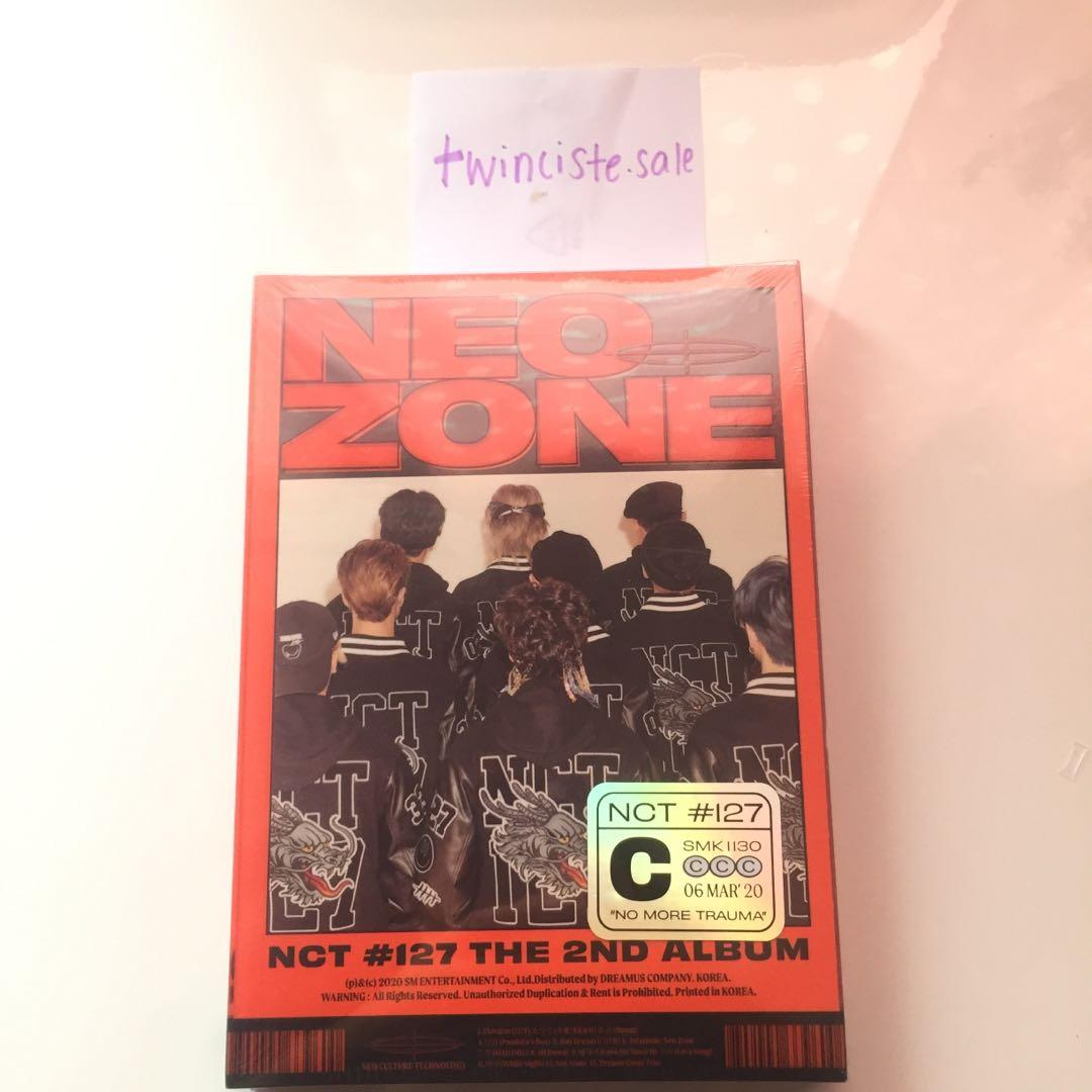 [READY STOCK] NCT127 2ND ALBUM NEO ZONE ALBUM SEALED
