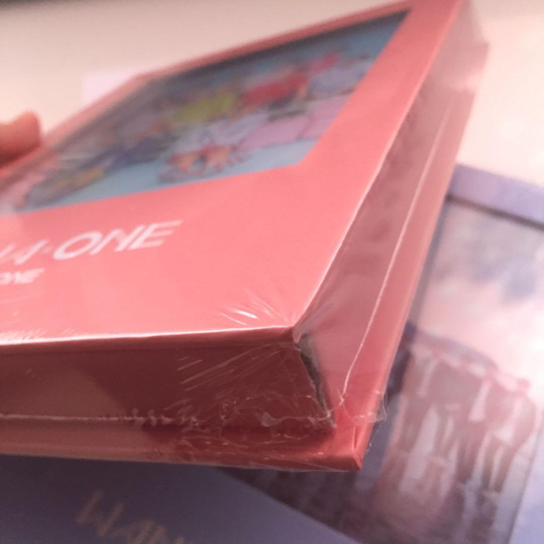 [READY STOCK] WANNA ONE 1X1 = 1 TO BE ONE ALBUM SEALED