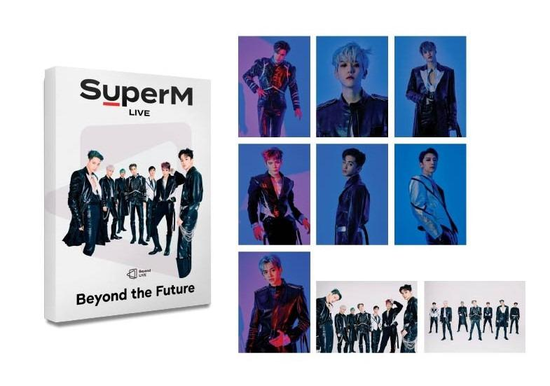 (SHARING) SuperM Beyond The Future Postcards EXO SHINee NCT