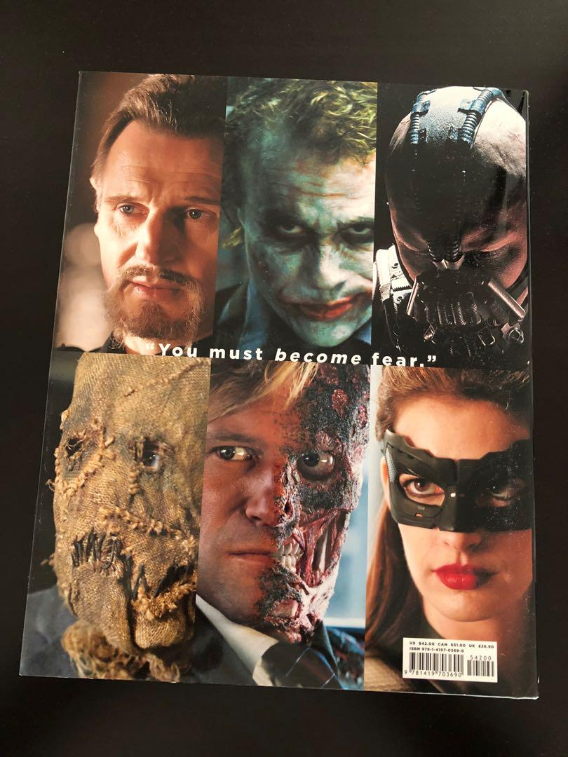 The Making & Art of The Dark Knight Trilogy *Hardcover*