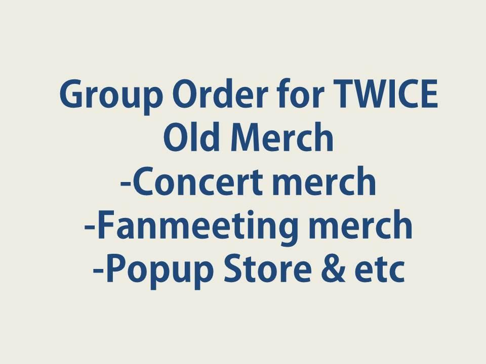 TWICE Official Goods Fan Meeting/Concert/Season's Greetings/Monograph