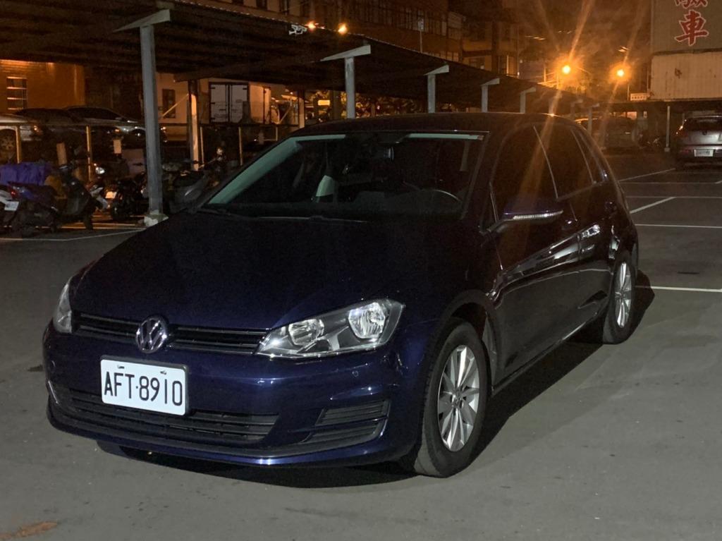 Volkswagen 2013 golf tsi 跑13萬