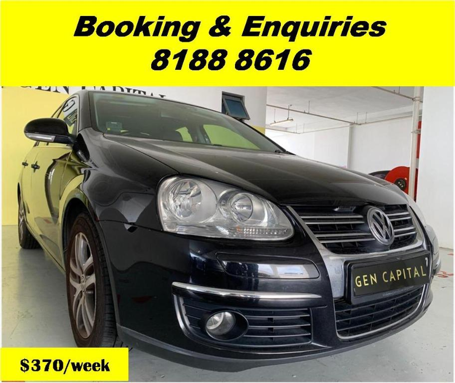 Volkswagen Jetta 50% OFF CIRCUIT BREAKER PERIOD ONLY!! GRAB A CAR NOW TO ENJOY THE LOWEST RENTAL! WHATSAPP 8188 8616 FOR MORE INFO!