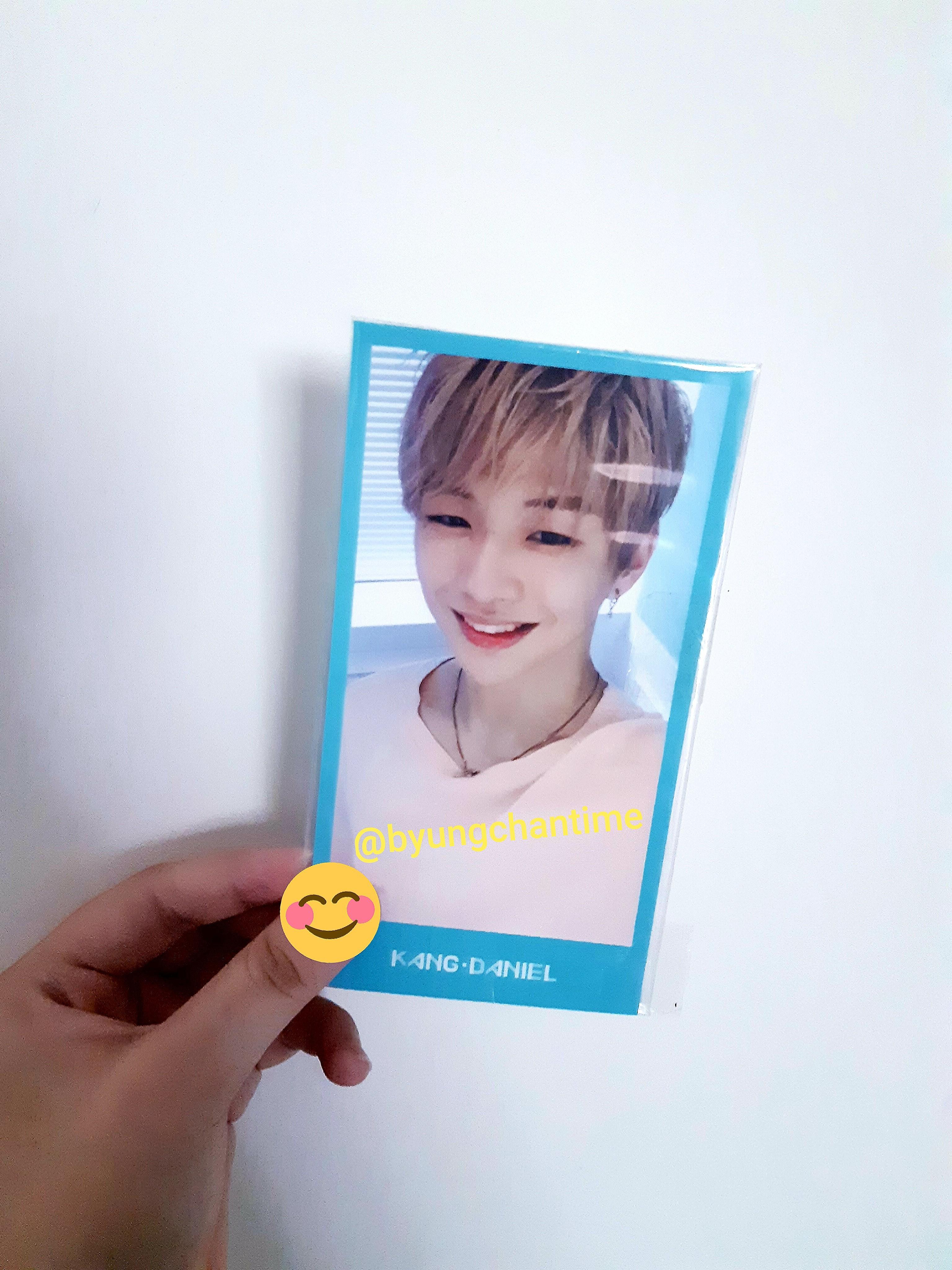 Wanna one Kang Daniel official membership photocard