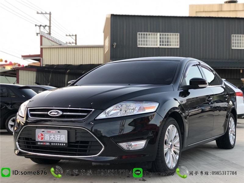 🔥2011年 Ford Mondeo 黑色🔥