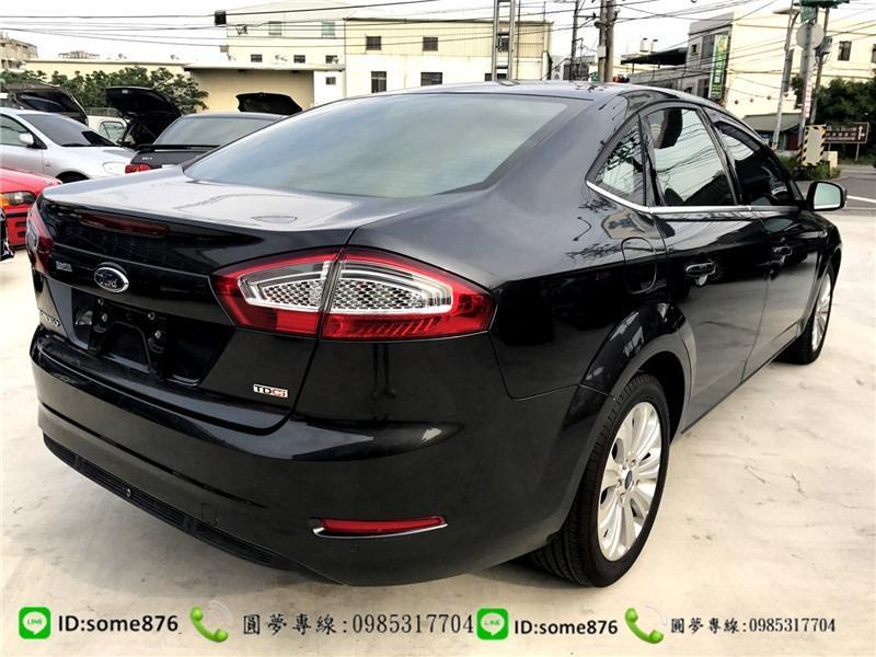 🔥2012年 Ford Mondeo 黑色🔥