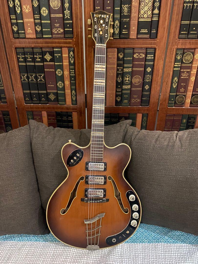 Guitars vintage hofner The Vintage