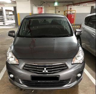 !! Special Discount during CB Period Only !! Mitsubishi Attrage 1.2 CVT 2018 Car Rental @ Hillview