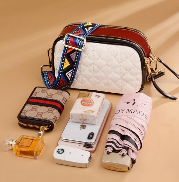 BAGMORE Ladies Korean Style Genuine Leather Shoulder Sling Camera bag HD7939-D