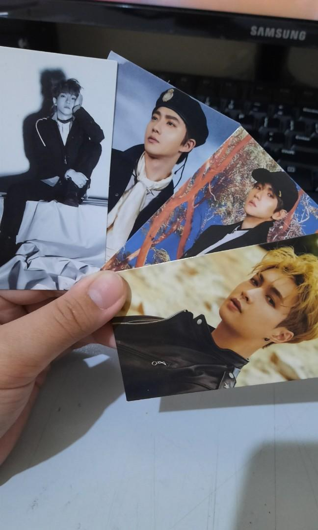 exo printed photocard (NOT official) #ShipperCarousell