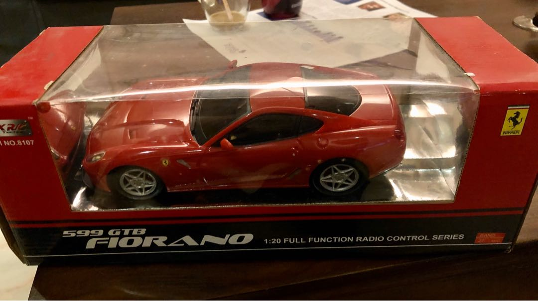 Ferrari 599 Gtb Fiorano Diecast Model Price Reduced Toys Games Others On Carousell