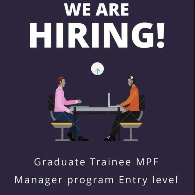 Graduate Trainee MPF Manager (Entry Level)