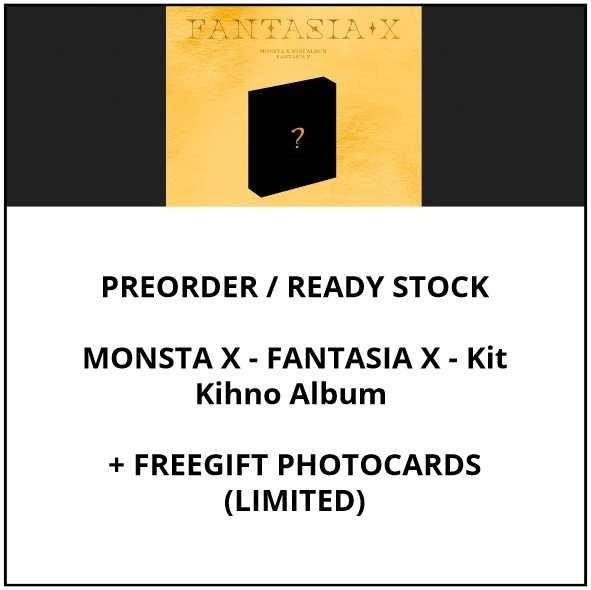 MONSTA X - FANTASIA X - Kit Kihno Album - PREORDER / READY STOCK + FREE GIFT PHOTOCARDS
