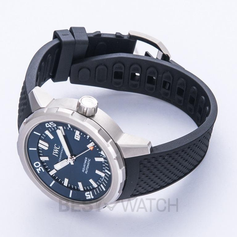 "[NEW] IWC Aquatimer Automatic Edition ""Expedition Jacques-Yves Cousteau"" Automatic Blue Dial Men's Watch IW329005"