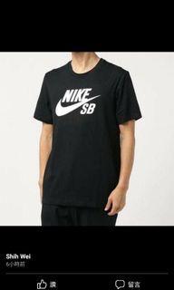 Nike sb短袖無吊牌全新