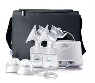 Philips Avent Double Electric Breast Pump, Slightly used