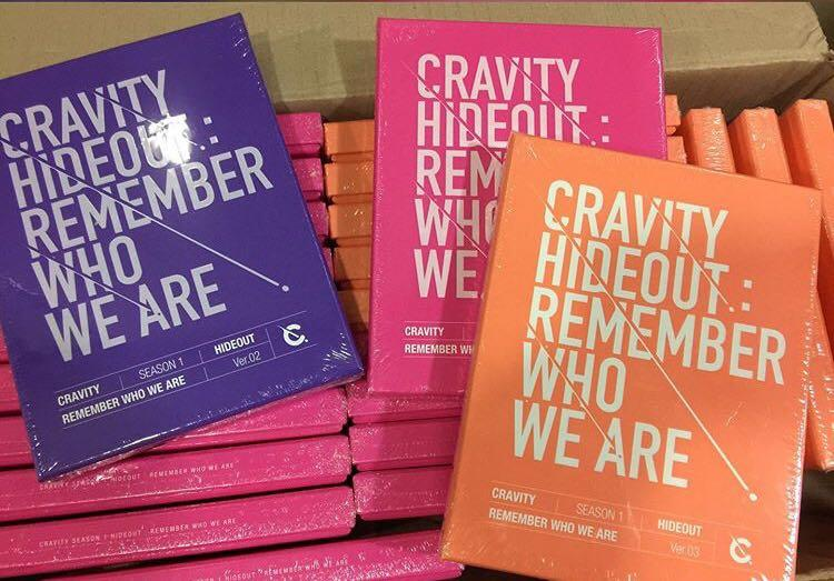 [PREORDER] CRAVITY SEASON 1 HIDEOUT REMEMBER WHO WE ARE