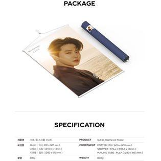 [Pre-order] EXO SUHO SELF-PORTRAIT - WALL SCROLL POSTER