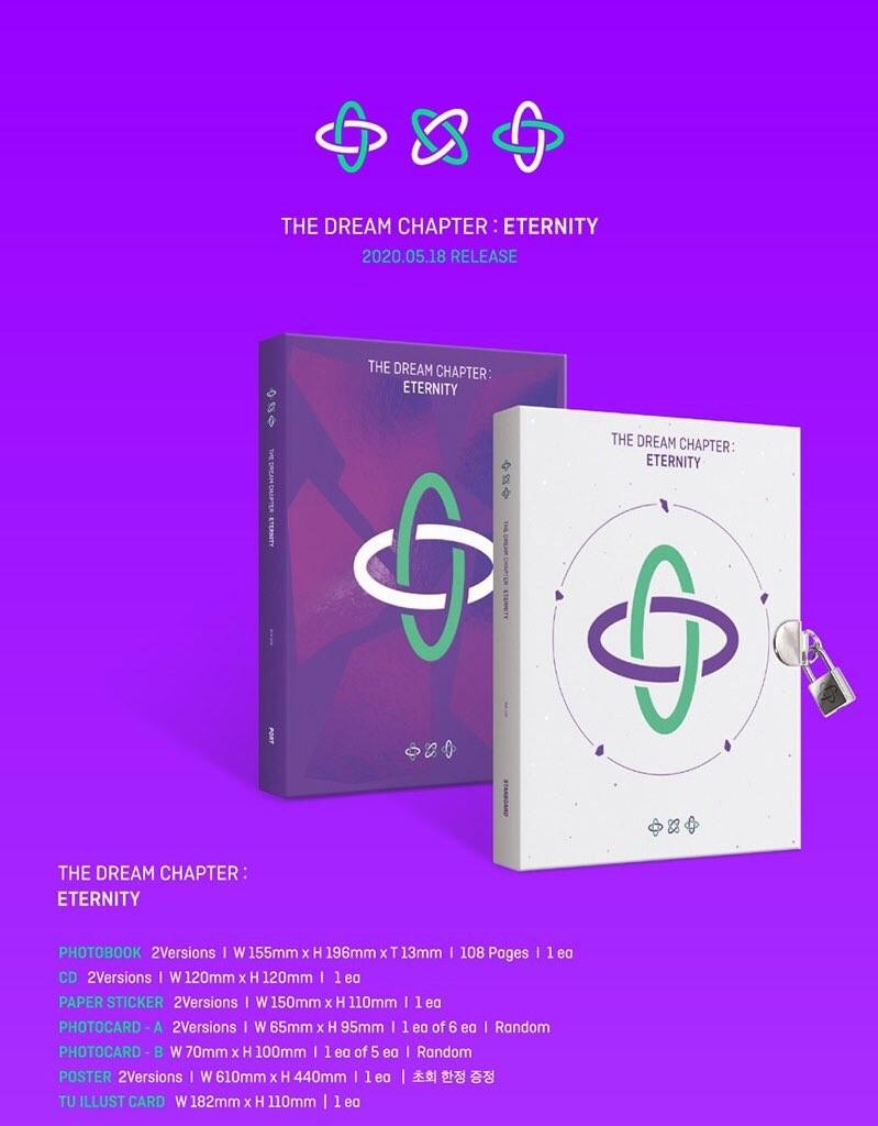 PREORDER MALAYSIA GO TXT THE DREAM CHAPTER : ETERNITY ALBUM