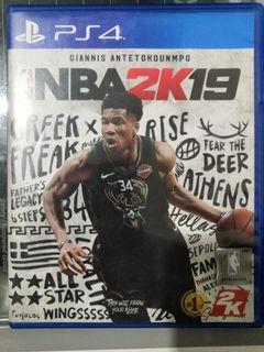 Ps4 Nba 2k19 for sale
