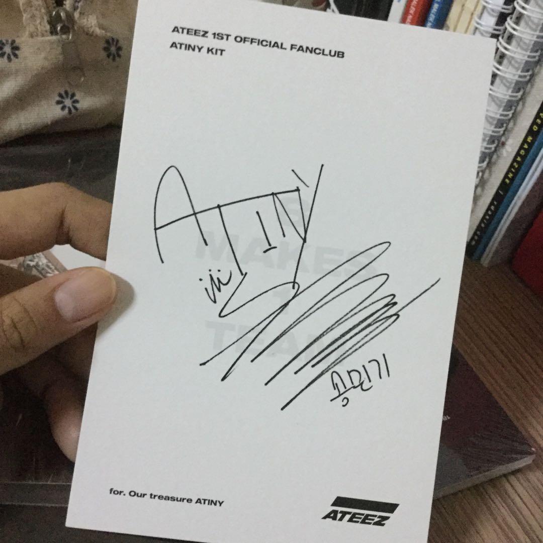 Ready Stock [PC + ID] ATINY 1st Membership Kit Mingi