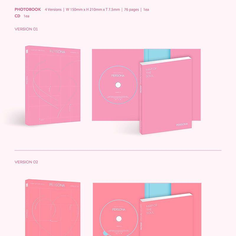 """SALE [PREORDER] BTS ALBUM """"MAP OF THE SOUL: PERSONA]"""