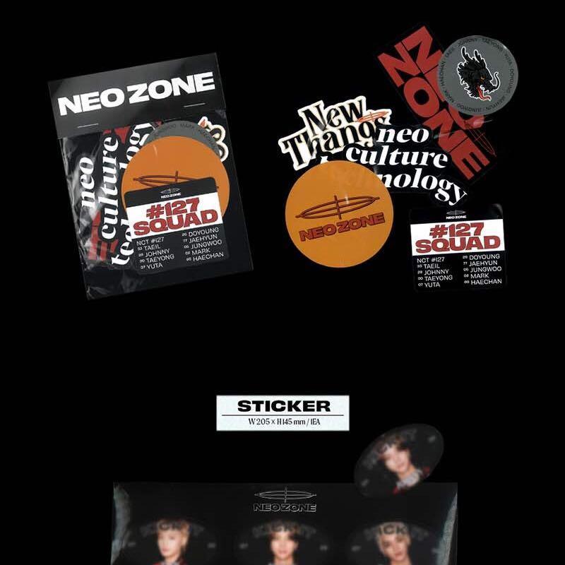 "SALE [READYSTOCK IN KOREA] NCT 127 ALBUM VOL. 2 ""NCT #127 NEO ZONE"" N, C, T VER."
