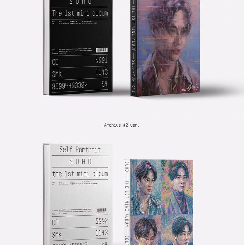 """SALE [READYSTOCK IN KOREA] SUHO MINI ALBUM VOL. 1 """"SELF POTRAIT"""""""