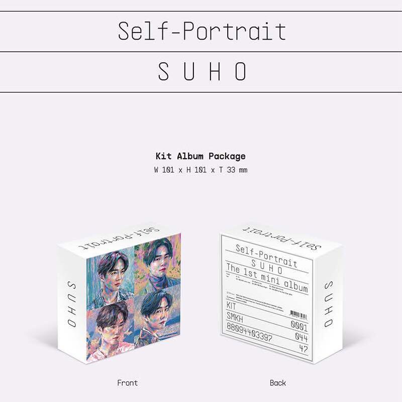 """SALE [READYSTOCK IN KOREA] SUHO MINI ALBUM VOL. 1 """"SELF POTRAIT"""" KIHNO"""