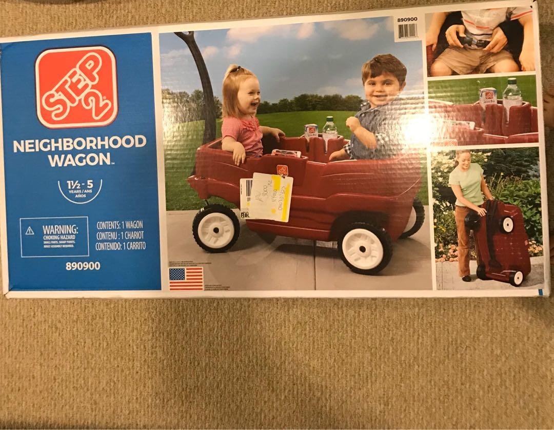 Step 2 Neighbourhood Kids Wagon - Brand new sealed in box