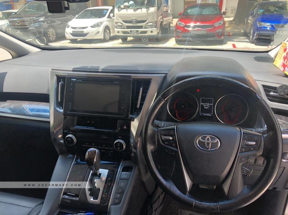Toyota Vellfire 2.5 Z G Dual Power Door/Sun Roof (A)