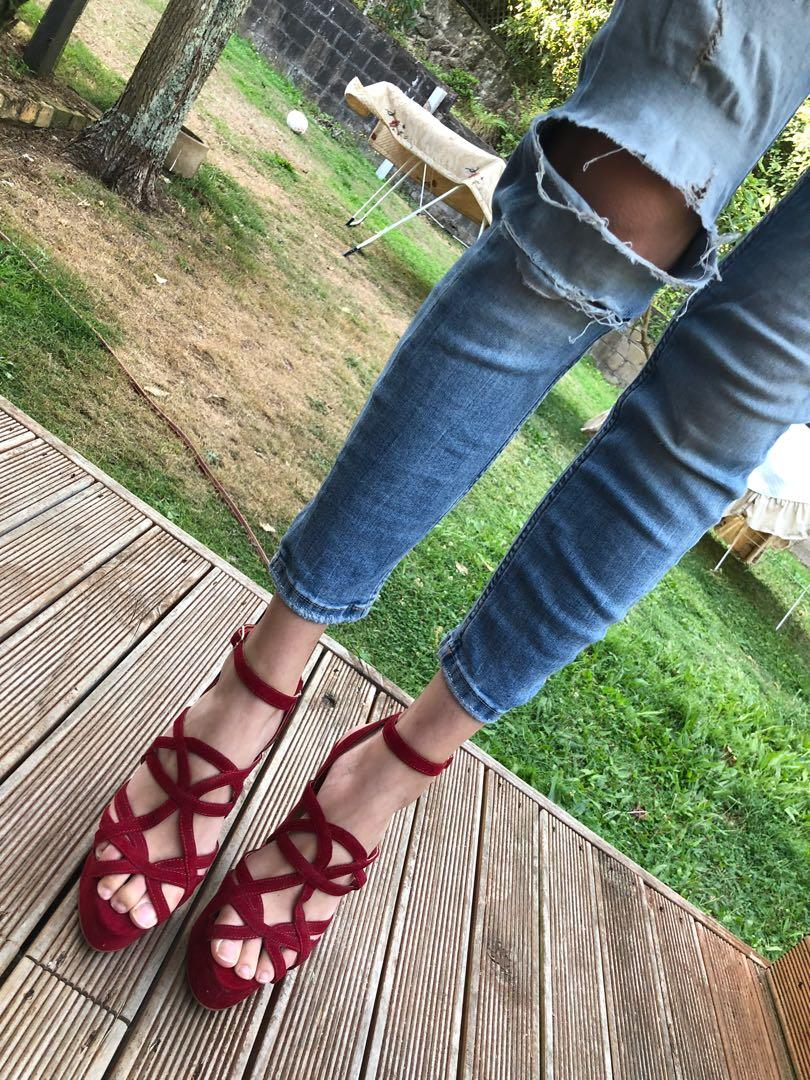 Carry Me Red heels