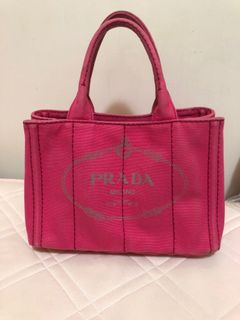 Prada 海灘包 -桃紅色