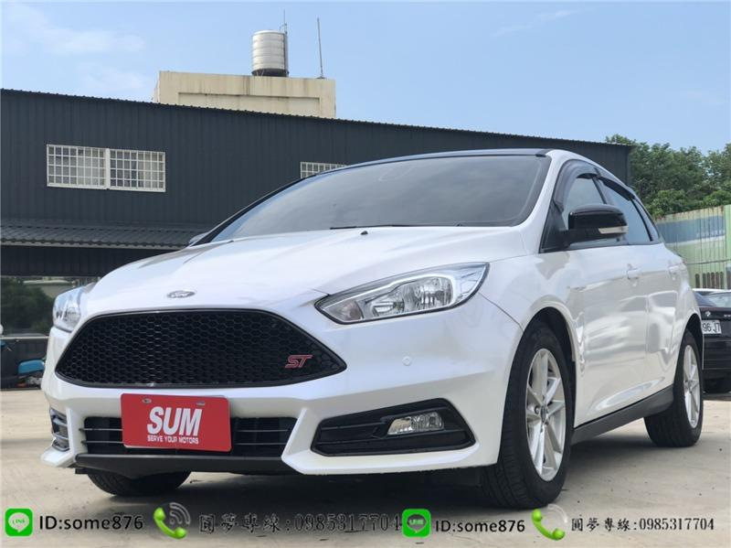 🔥2017年 福特 Focus白色🔥