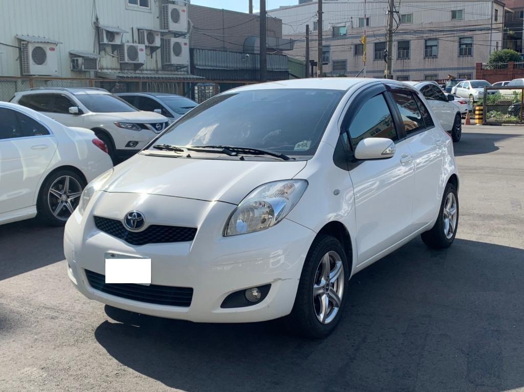豐田 2011 白色 YARIS G版
