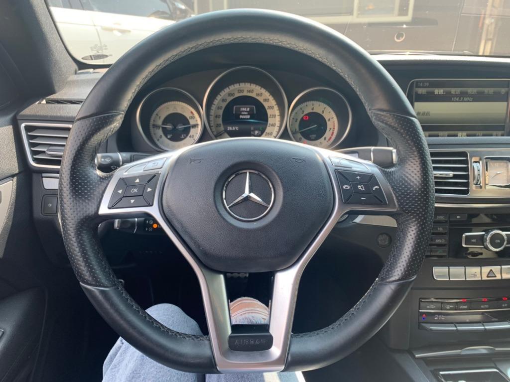 賓士 2014 白色 E200 AMG