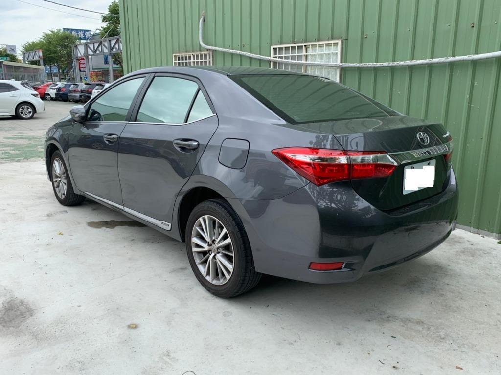 豐田 2015 灰色 ALTIS S+