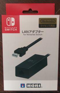 二手 NS任天堂 Switch HORI LAN 有線網路 USB連接器