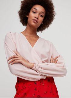 Aritzia reign blouse