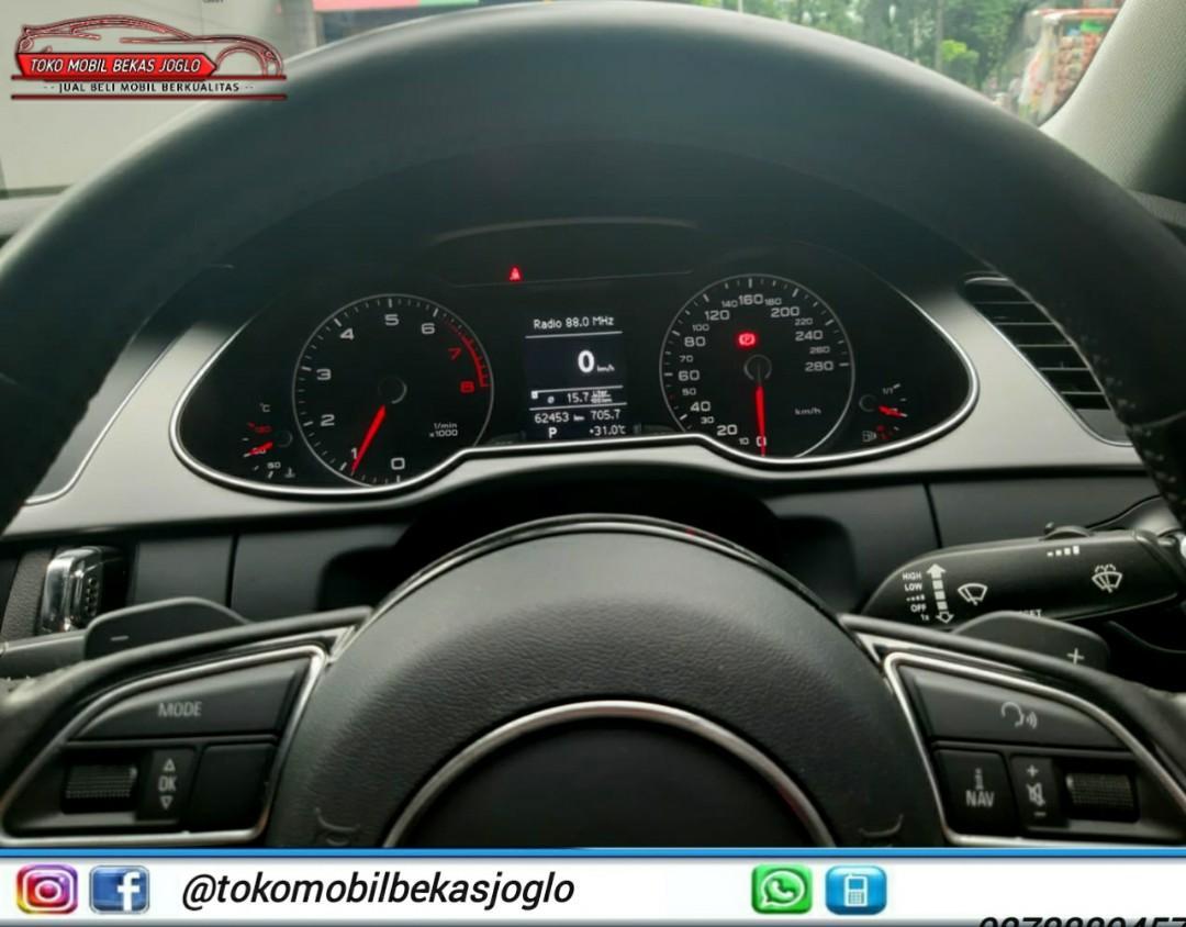 AUDI A4 1.8 TFSI Facelift 2013 Hitam,Kredit 215jt & Cash 240jt
