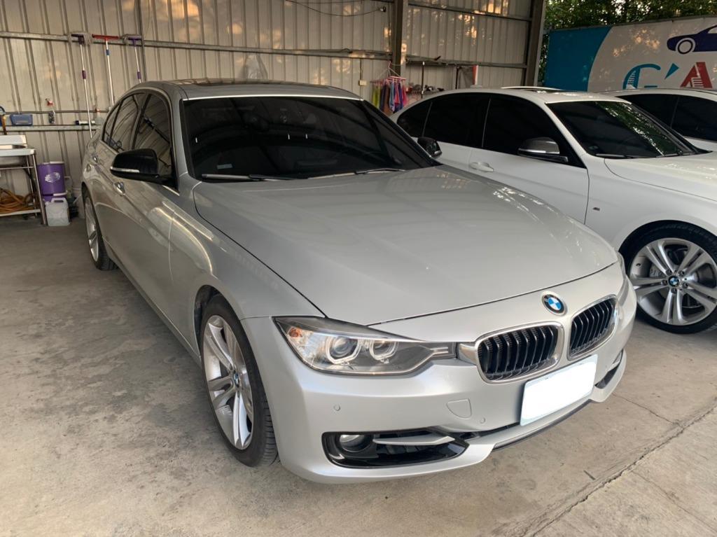 BMW 2012 銀色 335I