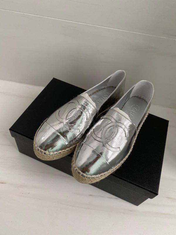 Chanel Espadrilles Shoe (Authentic