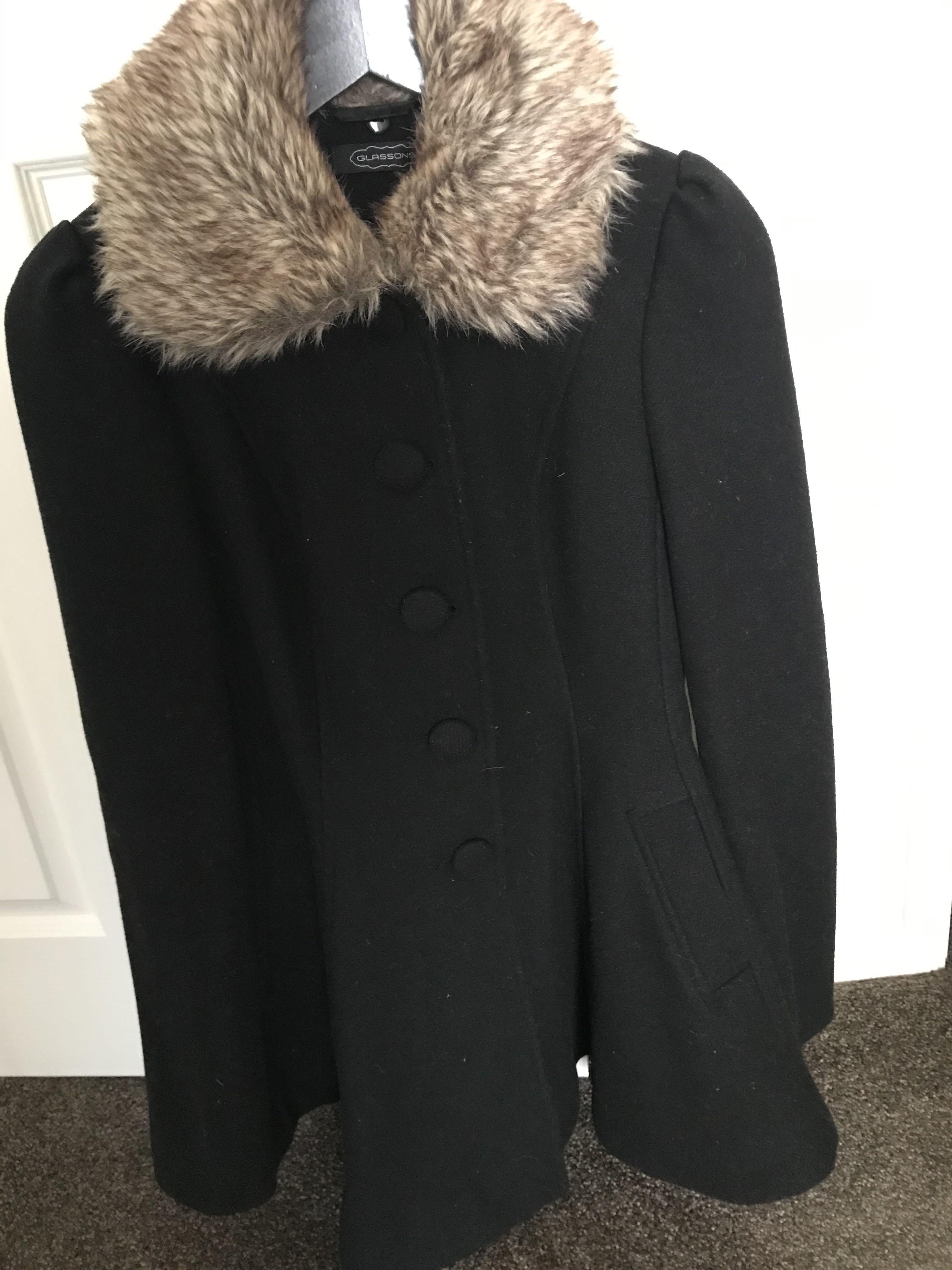 Dress coat size 10 Glassons