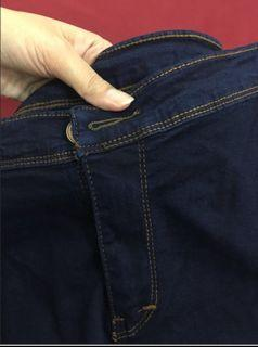 Jeans navy New bagus banget