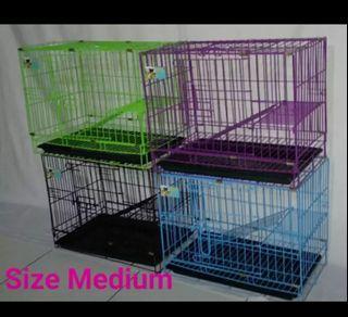 Kandang kucing tingkat tangga size M 60 cm free ongkir bayar ditempat