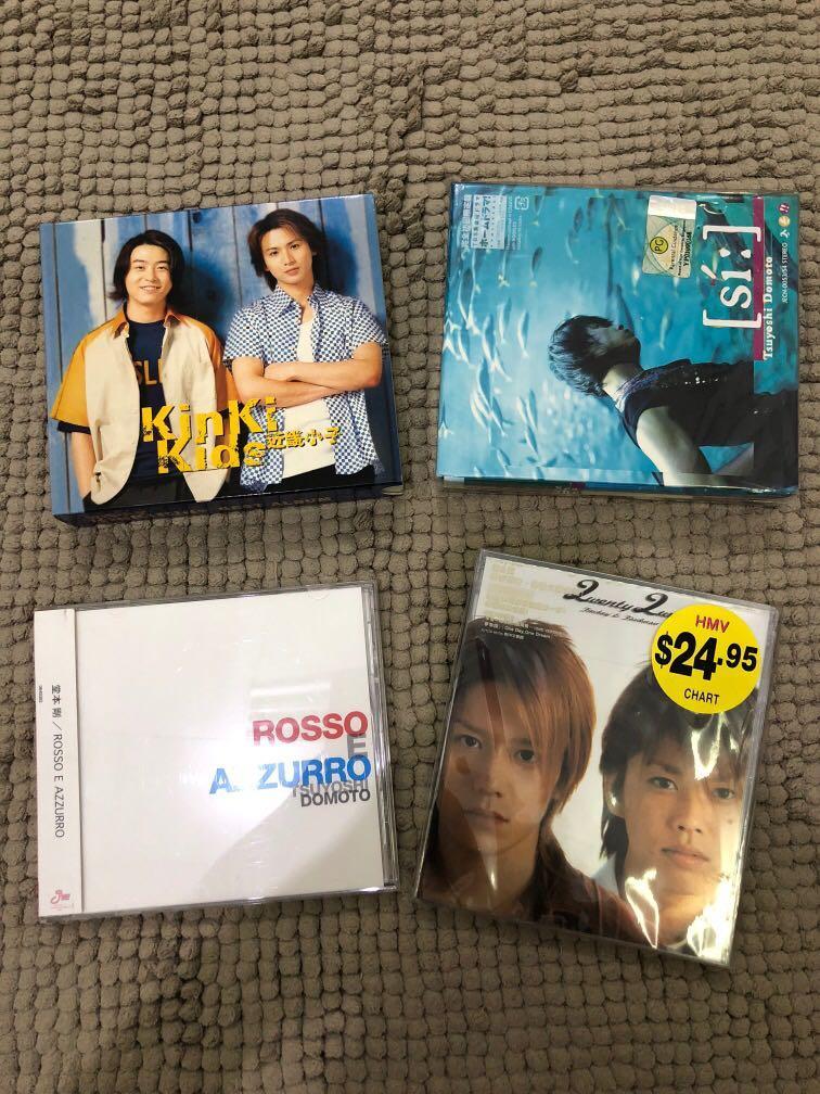 Kinki Kids, Tsuyoshi Domoto, Tackey & Tsubasa Albums