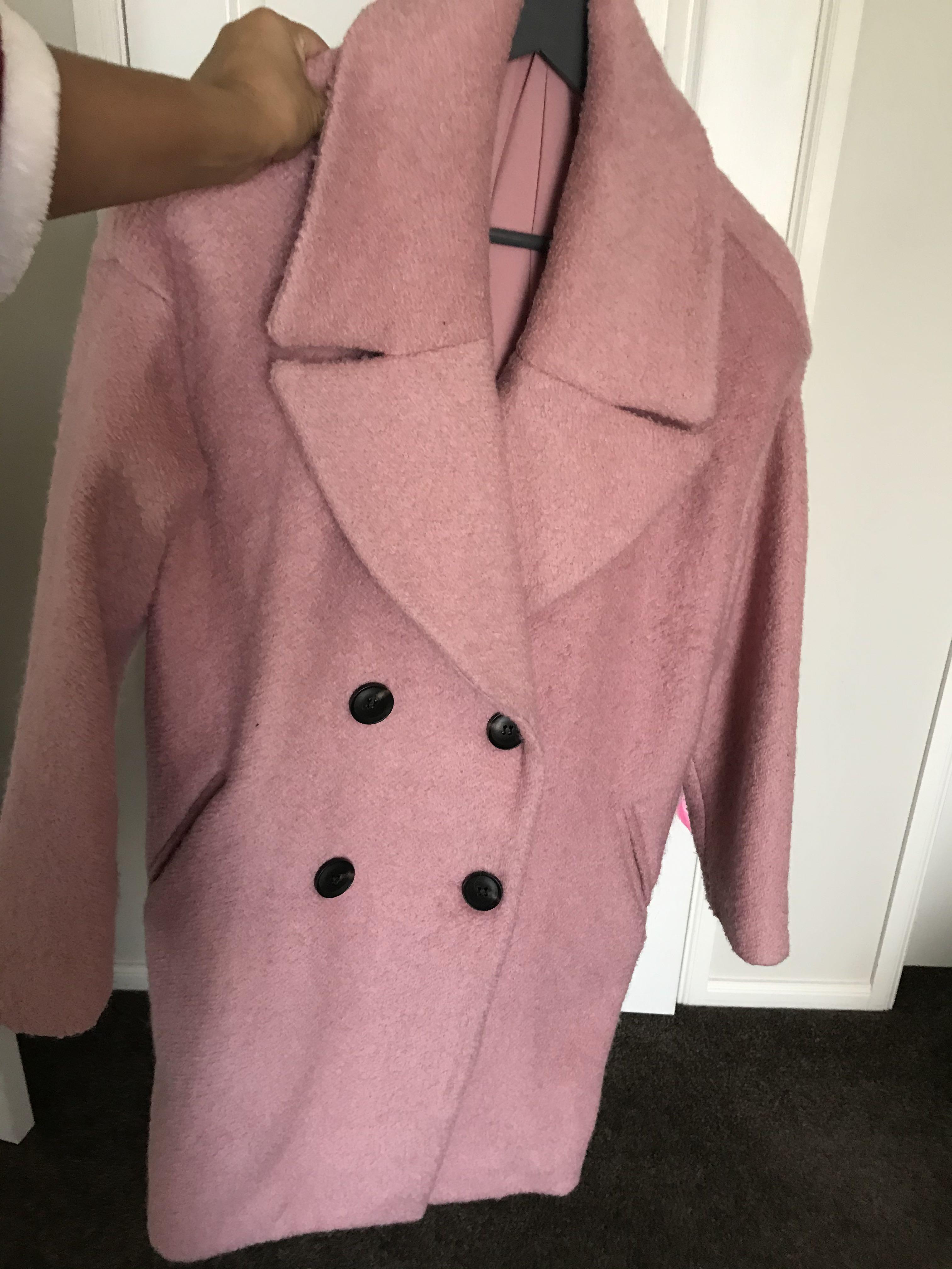 Oversized Coat size 8 Dotti