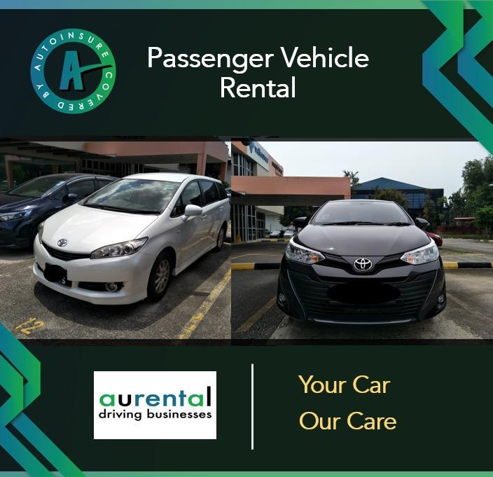 Passenger Vehicle Rental (Sedan, Luxury Sedan, MPV)