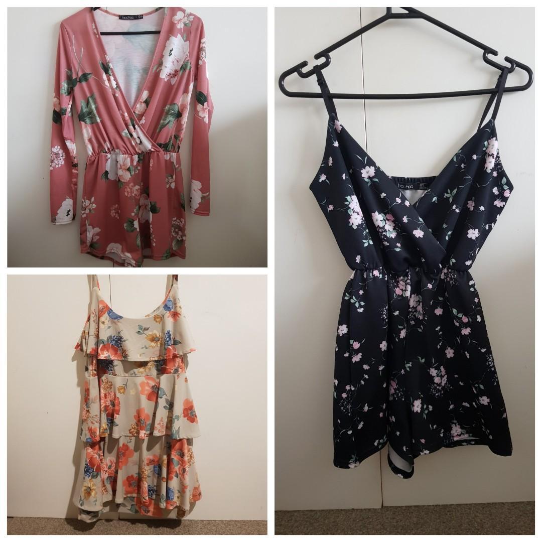 Playsuits/dresses
